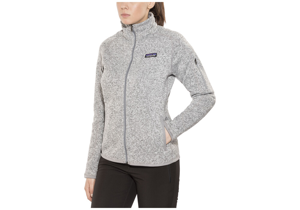 Patagonia Better Sweater Jacket Women Grey At Addnature Co Uk
